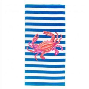 VIV & LOU Crab Stripe Towel